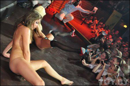 Порно шоу с катей самбука на сцене видео