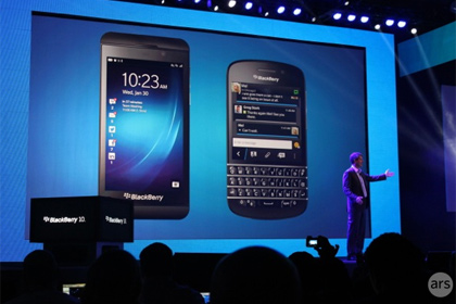 Вышла операционная система BlackBerry 10
